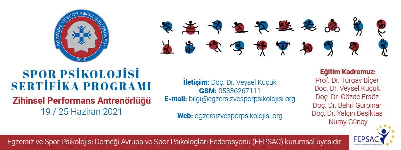 SPOR PSİKOLOJİSİ SERTİFİKA PROGRAMI